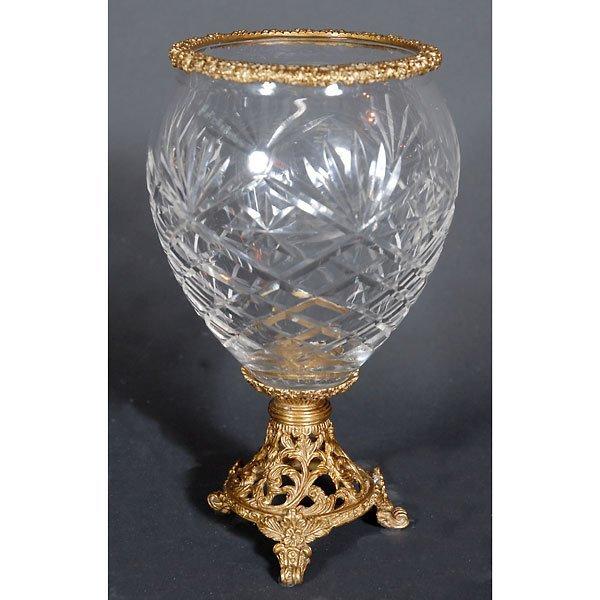 20005: Bohemian Crystal Vase