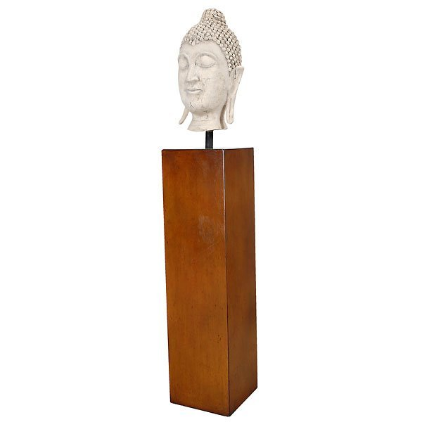 20012: Sukothai Buddha Head on Pedestal