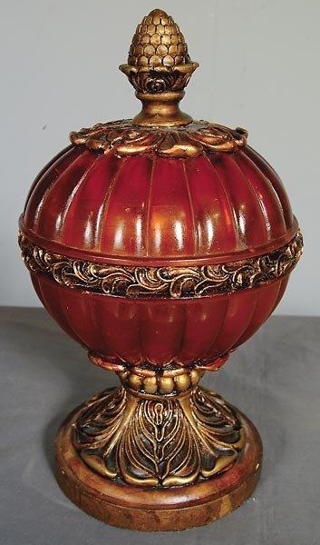 30010: Amber Vitreous Sphere