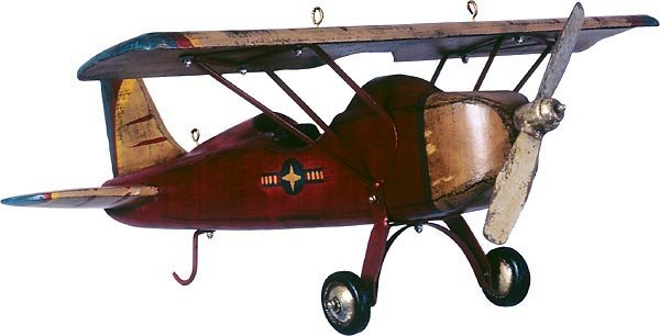 40008: Wooden Monoplane  Free Shipping