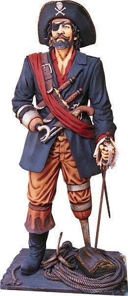 40013: Peg-Leg Pirate  Statue (6ft)