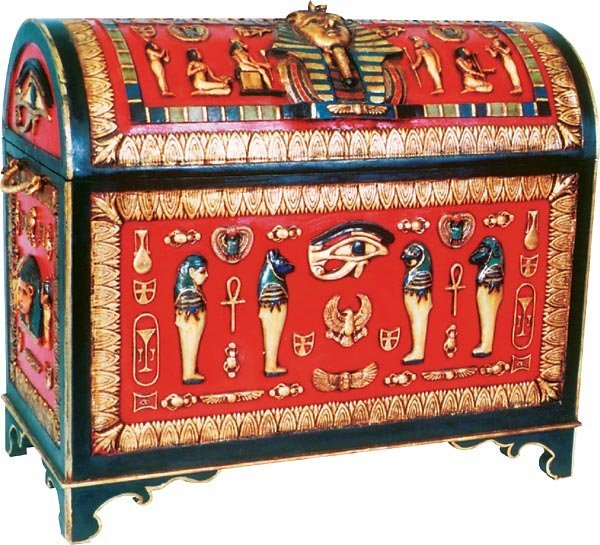 40014: Egyptian Trunk Free Shipping