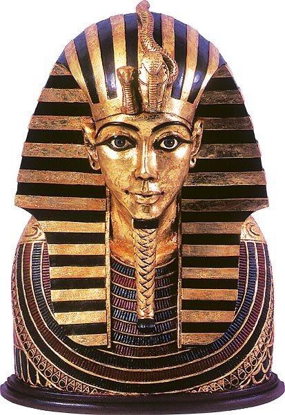 40024: Tutankhamun Bust Free Shipping