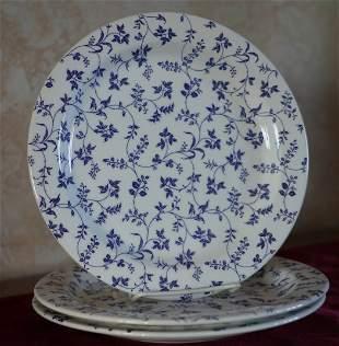 "Windsor Browne Dinner Plate 10"" Lot of 3"