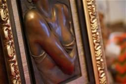 Bill Mack, Large Bonded Bronze Relief/ Sculpture