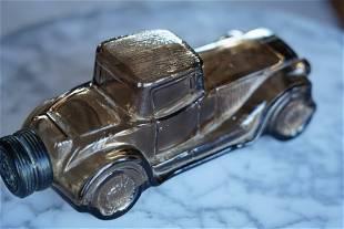 Glass Model T Jar/ Bottle With Twist Off Lid