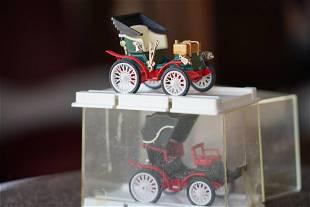 "*2 Collectable Car/Models- Peugeot 1896 "" PARIS- MARSEI"