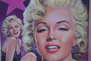 Marylin Monroe Signed Poster