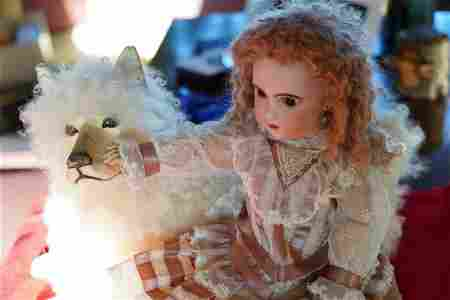 1885 Antique Bebe Jumeau Doll- Diplôme d' Honneur