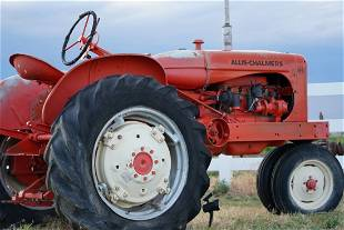 1948- 1954 Tractor ALLIS- CHALMERS WD !