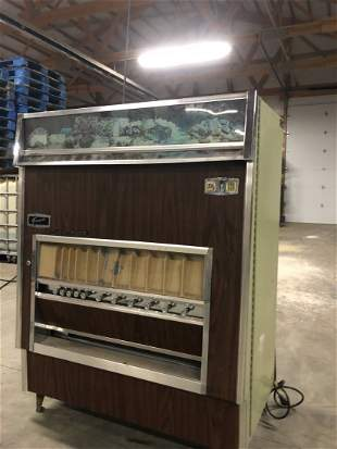 Fawn Fleetwood Pull Cigarette and Gum Vending Machine