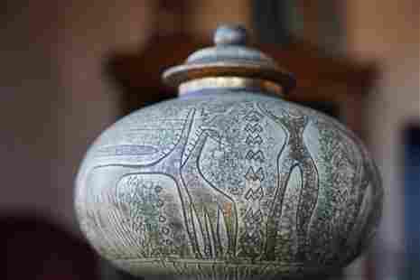 Red Clay Jar/ Vase