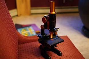 1915 Antique Microscope- BAUSCH &LOMB OPTICAL CO.