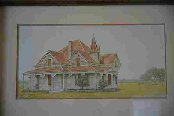 """Steve Trower -Signed """"The George House"""""""