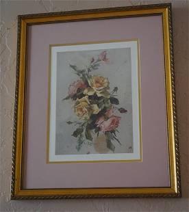 "Signed Art - ""Roses """