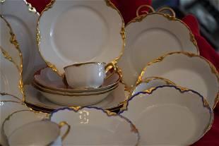 Vintage Set Of 31 Bavaria. Plates & Cups.