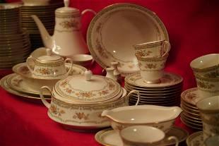 Vintage 96Piece Noritake Ivory China HOMAGE Ceramic Set