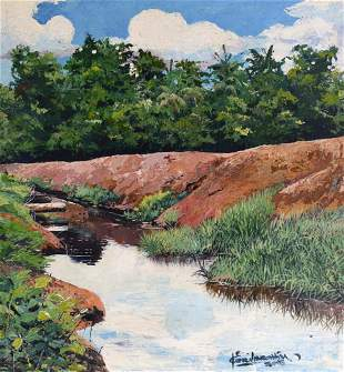 KERI IBRAHIM: WATER CANAL FOR PADDY FIELD, 2018
