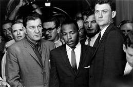 CHARLES MOORE Guarding James Meredith from Harm, 1962