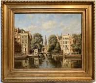 Dutch Master Karel Klinkenberg Original Oil on Canvas
