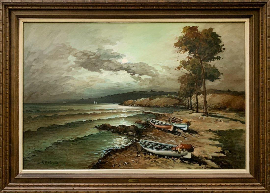 Agnes Torrielli (Italian) Original Oil on Canvas
