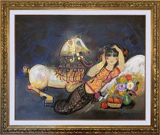 "Nasser Ovissi Large \""Master Piece\"" Original Artwork"