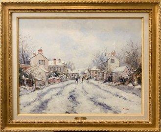 Beautiful Original Oil on Canvas by Jean Pierre DuBord