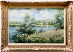 Judd Gallet Original Oil On Canvas