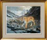 Charles Fracé Siberian Tiger Signed Lithograph