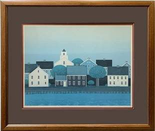 Theodore Jeremenko Framed Lithograph