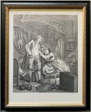 William Hogarth Vintage Engraving