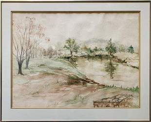 Beautiful Original Landscape Watercolor