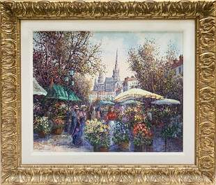 Colin Maxwell Parsons L.E Giclee on Canvas