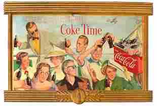Vintage Collectible Coca-Cola Board Sign