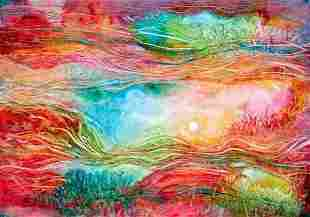 Kamran Khavarani Artist Proof Giclee on Canvas
