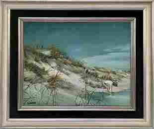 Original Oil on Canvas by Sebastian Painting