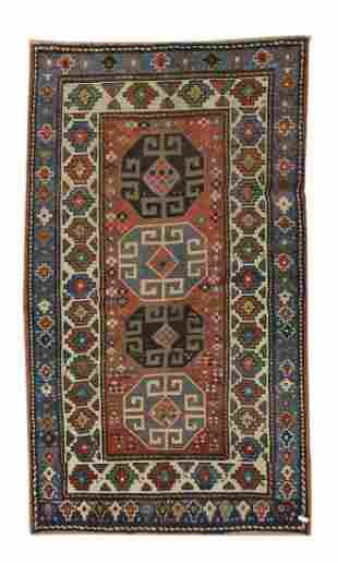 Antique Caucasian Rug, Circa 1920