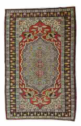 Antique Kayseri Turkish Rug, Circa 1930