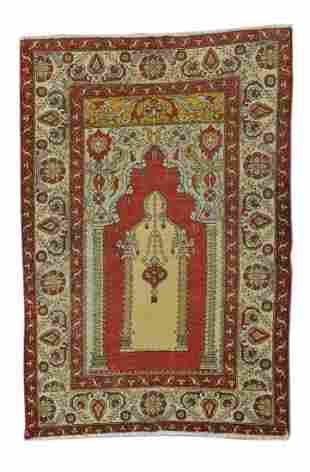 Antique Turkish Keysari Rug, Circa 1900