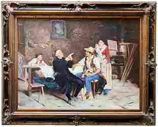 Alex Gorman Original Oil on Canvas