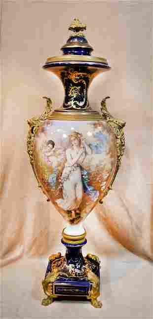 Antique French Sevres Vase