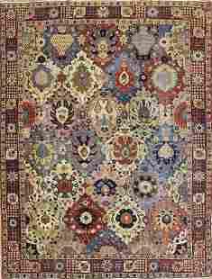 Antique Persian Tabriz Rug, Circa 1900