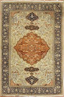 Antique Tabriz Persian Rug, Circa 1900