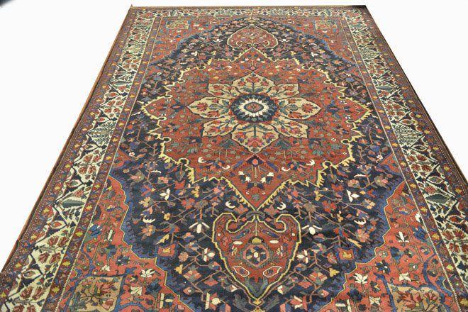Antique Bakhtiari Persian Rug