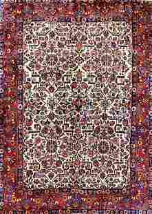 Antique Mahal Persian Rug, Circa 1890