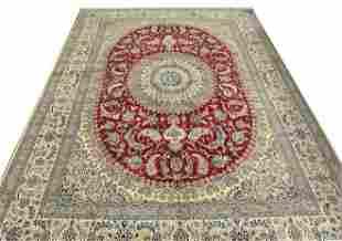 Vintage Naeen Persian Rug