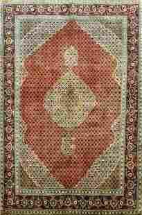 Semi Antique Tabriz Persian Rug