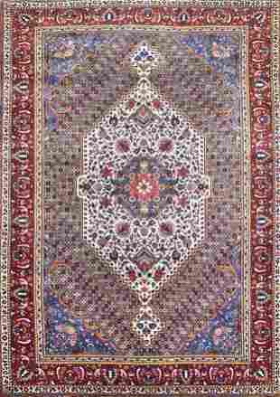 Vintage Bakhtiari Persian Tribal Rug