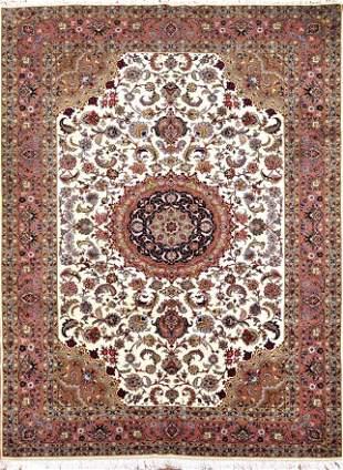Vintage Tabriz Persian Rug