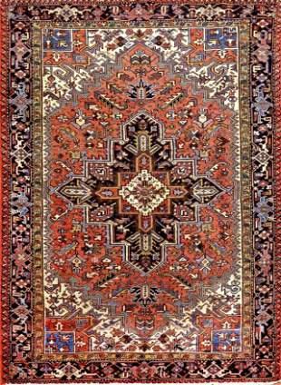 Vintage Heriz Persian Rug